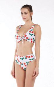 YIVEKO Tie Knot Front Bikini Set, High Waisted Swimsuit, Best Beachwear Bathing Suits, best rated women's underwear