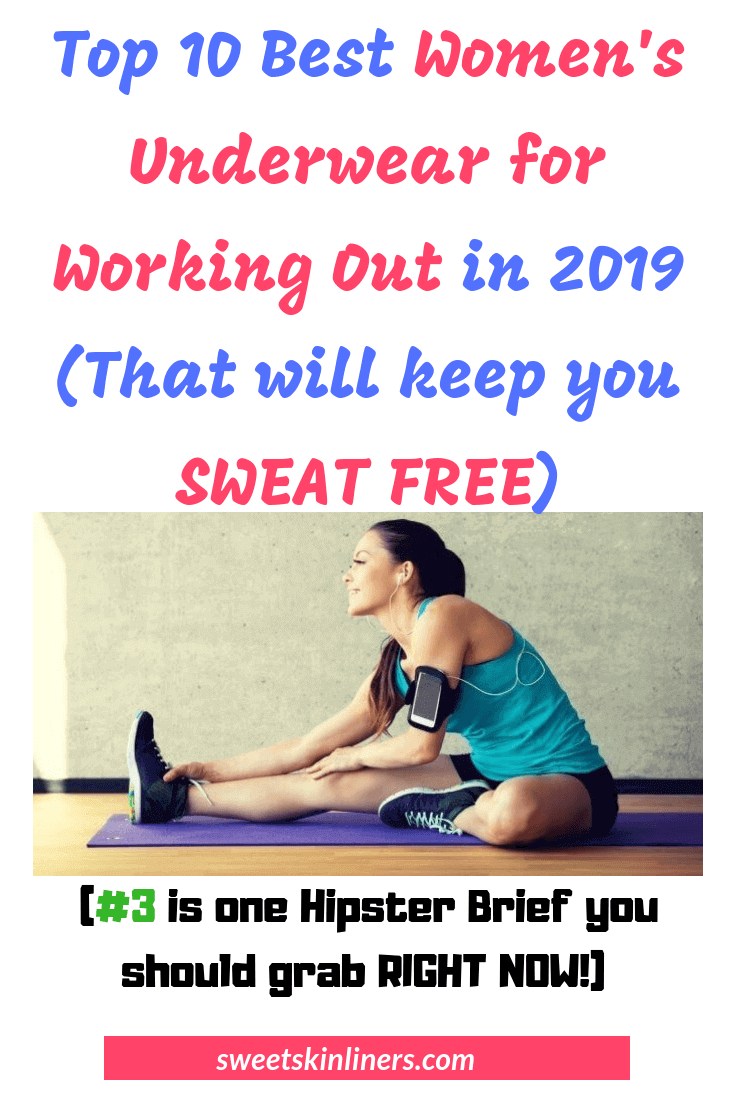 Top 10 Best Women's Underwear for Working Out in 2019