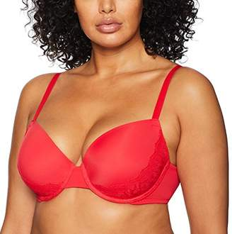 Madeline Kelly Women's Push up Full-Figure Bra with Lace Sling, Best Full Coverage Push up Bra