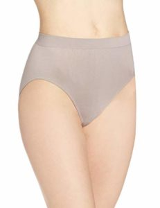 Bali Comfort Revolution Seamless and High-Cut Brief Panty for women, best seamless underwear, best no panty line underwear, best full-coverage underwear