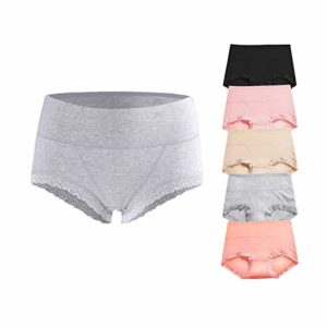 OPIBOO Soft Cotton Underwear Panties, Mid to High Waist Briefs, most comfortable women's underwear, best underwear for women's health, best type of underwear for women's health