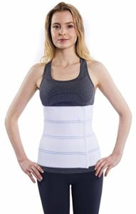 NYOrtho Abdominal Binder and Support Belt, Best Belly Wrap for Diastasis Recti, top rated postpartum belly wrap