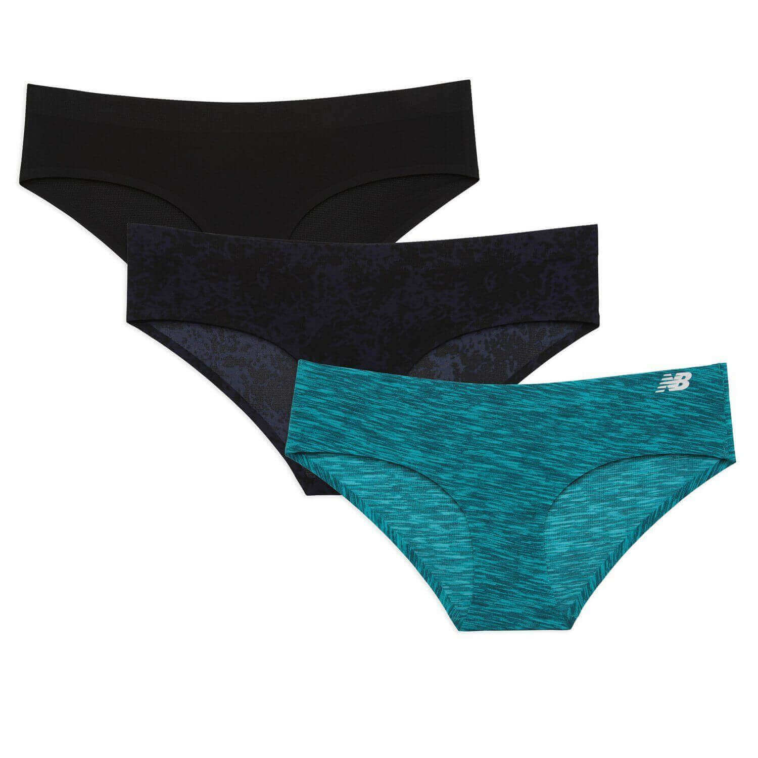 New Balance Breathe Hipster Panty for Women, Best Quick Dry Travel Underwear