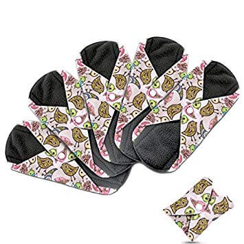 Dutchess cloth sanitary pads, reusable sanitary heavy flow and overnight towels made using bamboo