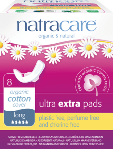 Natracare Ultra Extra Winged sanitary napkins, best postpartum pads for sensitive skin, best post partum pads, best pads for after baby