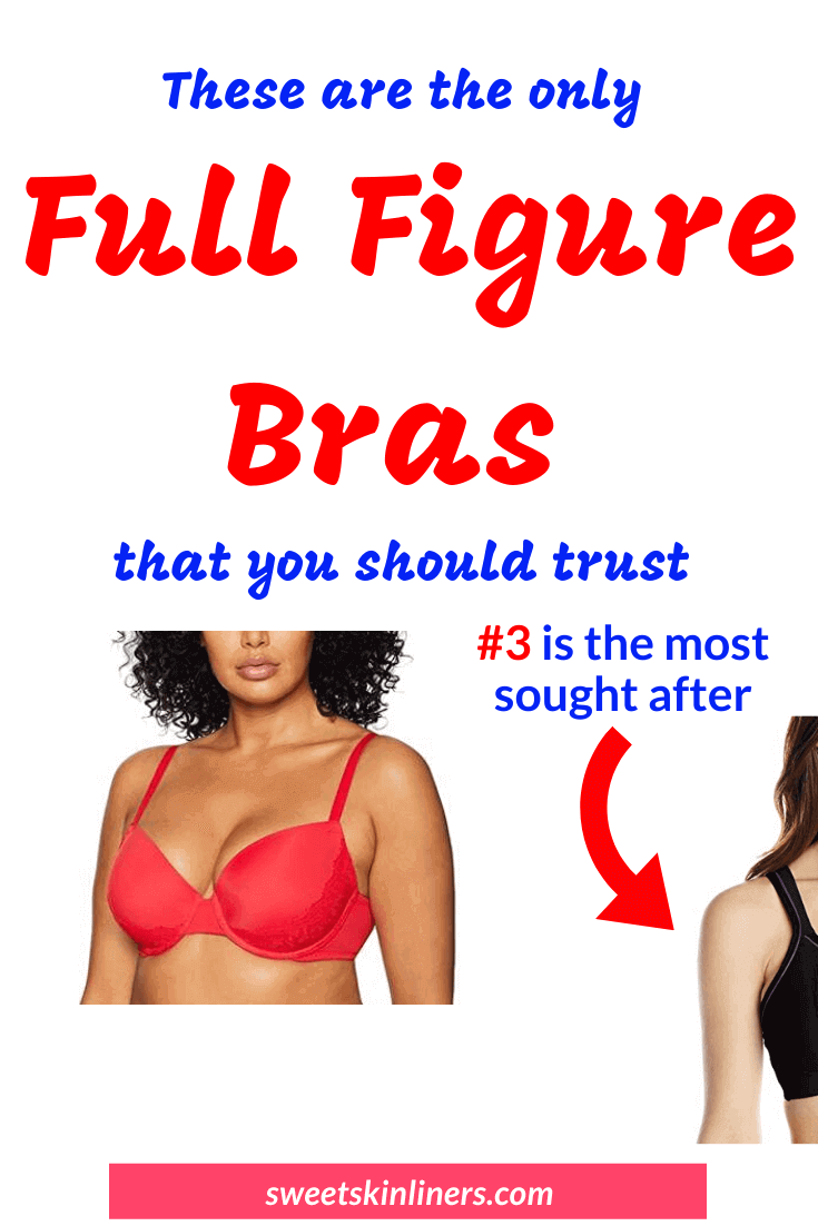 As a full busted woman, you don't have to despise yourself or envy the petite girls anymore. You can redeem your sexy silhouette and confidence with the best full figure lift bra. Check out a review of the best full figure bras that will make you feel and look good. If you are wondering what is the best fitting brassiere for full figured, then these are our highest reviewed full figure bras, best fuller figure bras and best support bra for full figured. This is the ultimate review of the best full coverage bra. Best convertible bra for full-figured, best minimizer bra for full bust, best full figure sports bra, best full figure bra reviews.