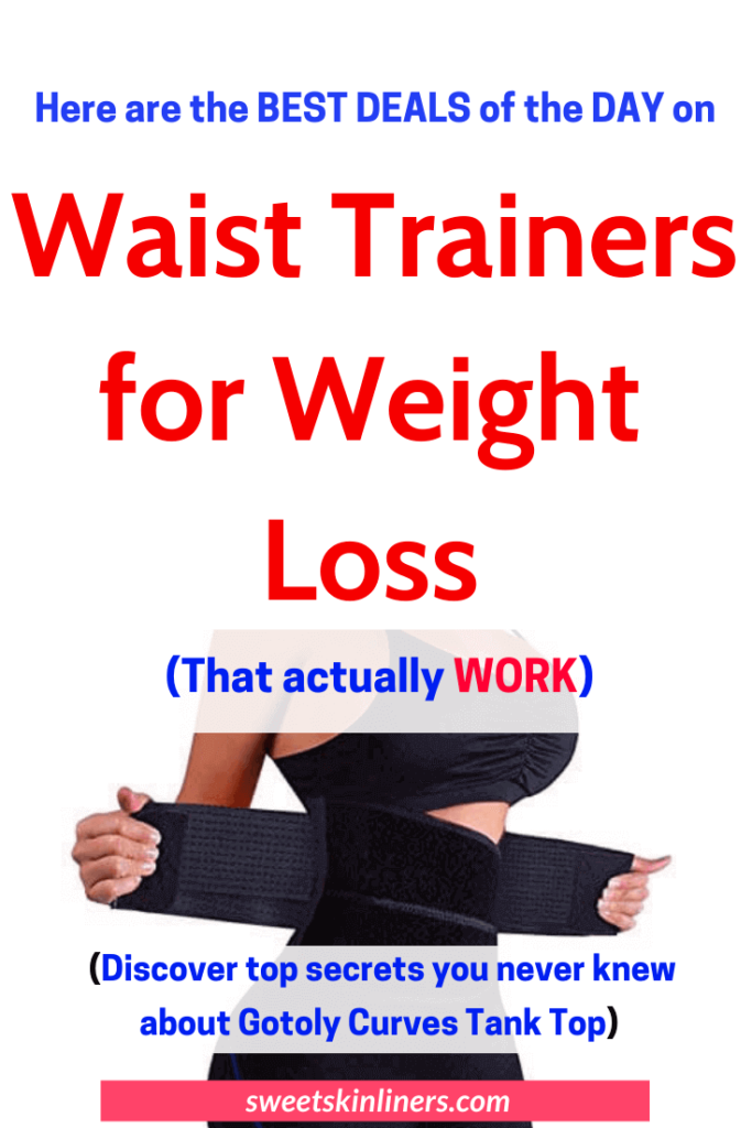 Whether you have an unsightly tummy pooch or bland love handles, you can within no time achieve a sexier you with the best waist trainer for weight loss. Check out our detailed review of the best waist trainer for working out that will get you noticed in the curved silhouette you've always dreamed of. This a sorted products list and buyer's guide on the best weight loss trainer for waist, top rated waist trainers, best plus size waist trainer, how to use a waistline trainer to lose weight.