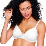 Hanes Women's Ultimate T-Shirt Brassiere Soft Foam Wirefree, the best bra to cover nipples