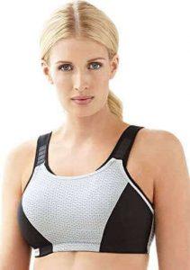 Glamorise Double-Layer Custom-Control Sport Bra for Women