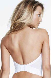 Dominique Women's Noemi Strapless Backless Bra. Best backless push up bra