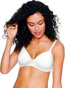 Hanes Women's Ultimate T-Shirt Brassiere Soft Foam Wirefree, the best bra to cover nipples, best bras to hide nipples, best bra in which nipples are not seen