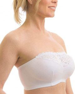Carole Martin strap-free comfort wire free brassiere, best strapless push up bra for large bust, strapless bra for large breasts, best wireless strapless bra, strapless bras for big boobs, best strapless bra for large bust Australia