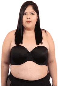 One of the best strapless bras for a woman with big breasts