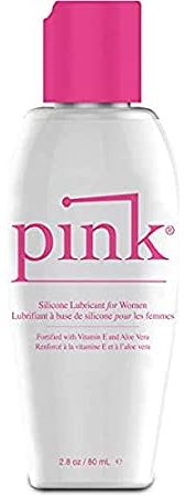 Pink Silicone Lubricant - Hypoallergenic Silicone-Based Lubricant (2.8 fl. oz.). One of the best solutions for restoring stickiness to adhesive bras