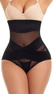 MOVWIN Shapewear for Women Tummy Control - Body Shaper Slimming Spanks. One of the best shapewear for lower belly pooch