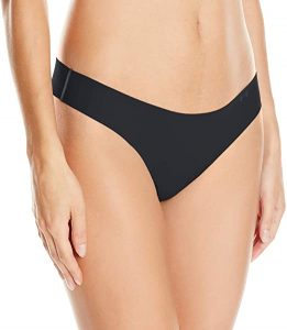 Under Armour Women's Pure Stretch Thong Underwear. Wondering What to Wear Under a Tight Fitting Dress? Get this undergarment and prevent visible panty line (VPL) under your dress